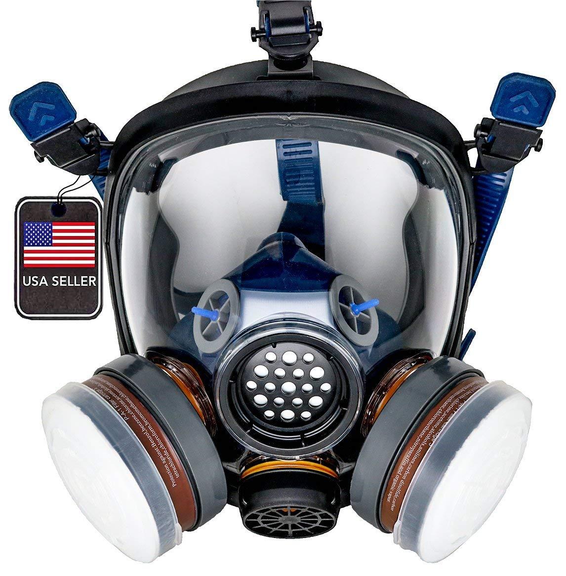 PD-100 Full Face Respirator