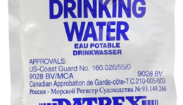 Bug Out Bag Water